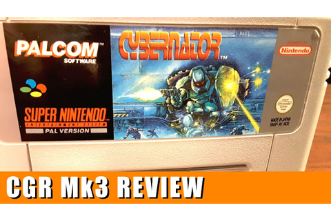 Classic Game Room - CYBERNATOR review for Super Nintendo ...
