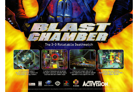 The Guy With Not Enough Time On His Hands!: Blast Chamber ...