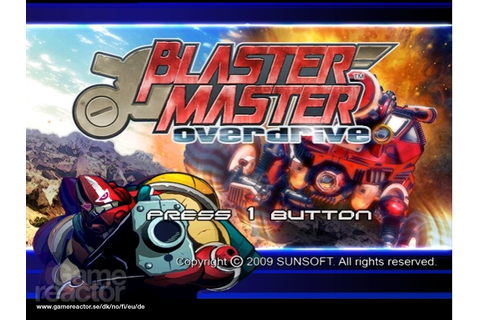 Blaster Master: Overdrive - Gamereactor UK