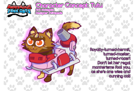 Supersonic Tank Cats character sheet: Tutu by molegato on ...