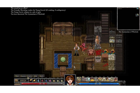 Dungeons of Dredmor Gameplay - YouTube