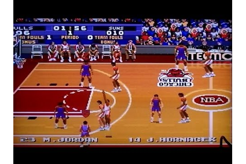 Tecmo Super NBA Basketball [SNES] - YouTube