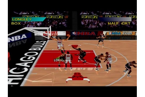NBA ShootOut '97 Gameplay Exhibition Match (PS1,PSX,PS One ...