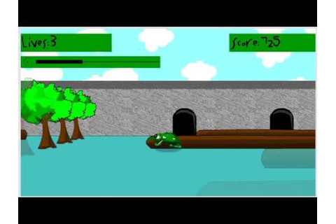 3D Frogger (PC browser game) - YouTube
