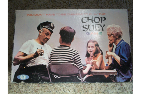 Chop Suey Game by Ideal 1967