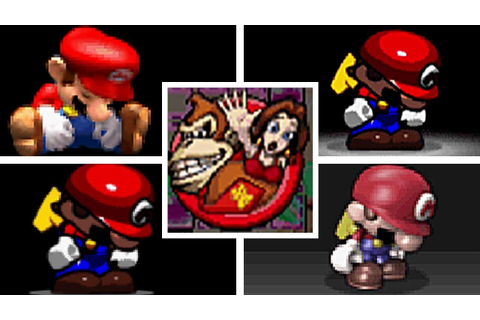 EVOLUTION OF MARIO VS DONKEY KONG SERIES DEATHS & GAME ...