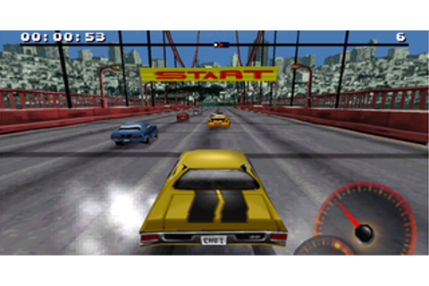 Play Retro Games Online: Test Drive 4 PS1