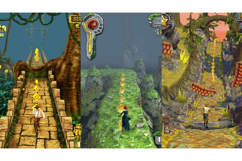 This Week's Android Charts: A Temple Run Triple Play
