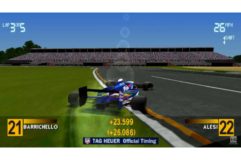 Formula 1 97 PS1 Gameplay HD - YouTube