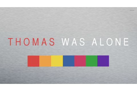 Thomas Was Alone wallpaper - Game wallpapers - #21044