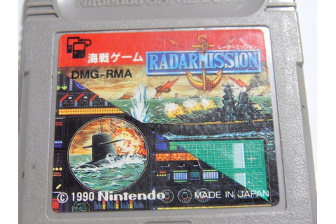 Radar Mission Game Boy Classic / Color /gba Advance ...