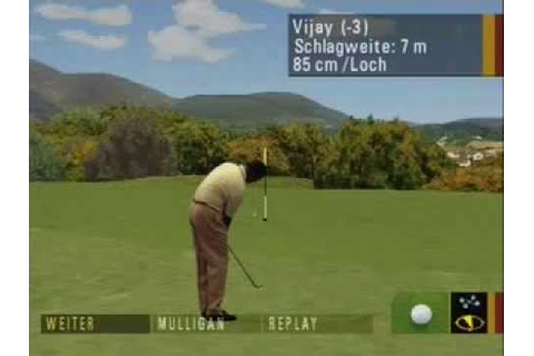 Pro 18 World Tour Golf (Part 1/2) PLAYSTATION 1 - YouTube