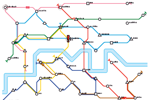 Mini Metro: excellent audio and visual design, relaxing ...