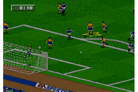 Play FIFA Soccer 96 Sega Genesis online | Play retro games ...