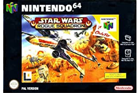 Amazon.com: Star Wars: Rogue Squadron: Video Games