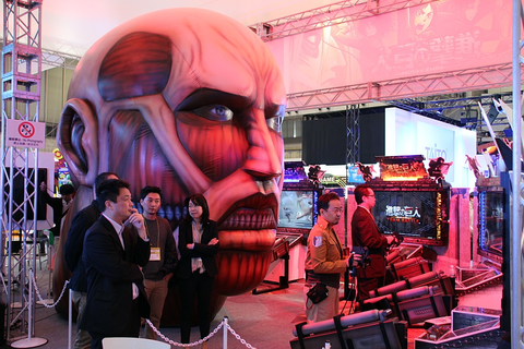Capcom's Attack on Titan Arcade Game Fully Revealed ...