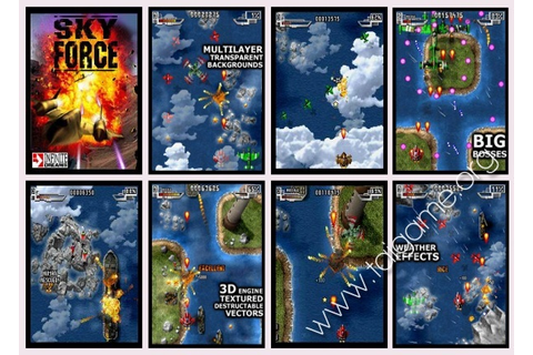 Sky Force - Download Free Full Games | Arcade & Action games