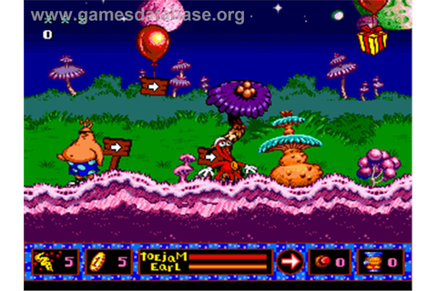 ToeJam & Earl in Panic on Funkotron - Sega Nomad - Games ...