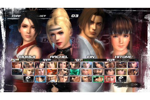 Dead or Alive 5 Ultimate screens show off new tag team ...