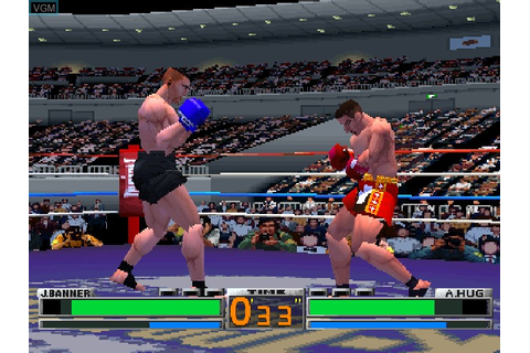 K-1 The Arena Fighters for Sony Playstation - The Video ...