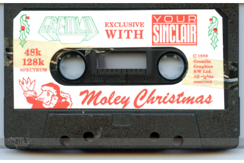 Moley Christmas Cassette – The Gremlin Graphics Archive