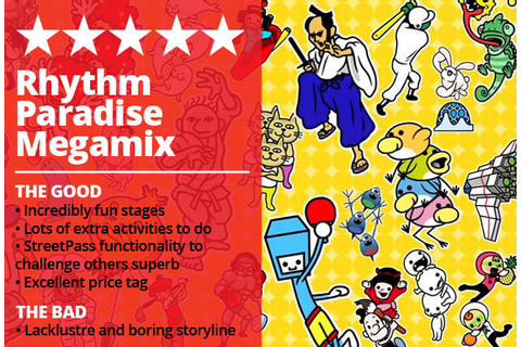 Rhythm Paradise Megamix Review: No need for Nintendo ...