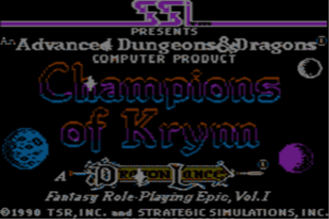Download Champions of Krynn - My Abandonware