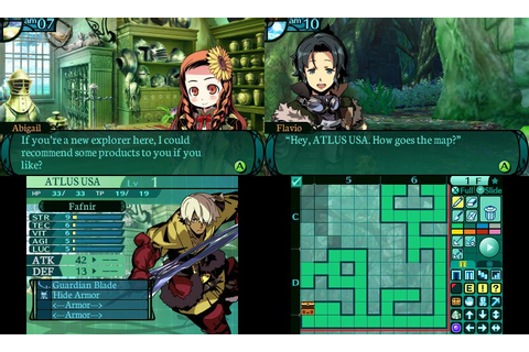 Etrian Odyssey 2 Untold: The Fafnir Knight review: bread ...