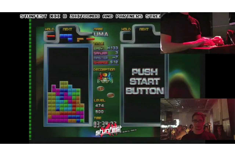 TETRIS GRAND MASTER 3 (TGM 3) @ Stunfest XII (Player ...