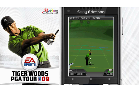 [HD] EA Mobile 3D Tiger Woods PGA Tour 09 Java Game - YouTube