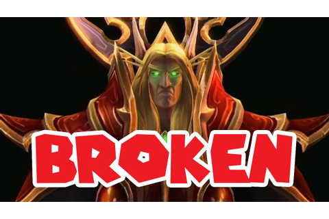 GAME BREAKING KAEL'THAS BUG // Heroes of the Storm - YouTube
