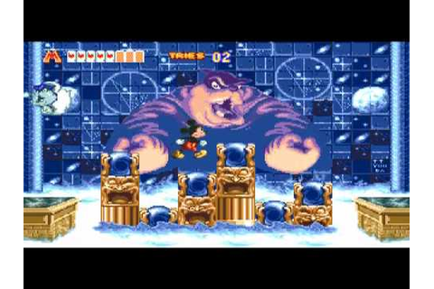 Mickey Mouse - World of Illusion Part 6 Final Boss - YouTube