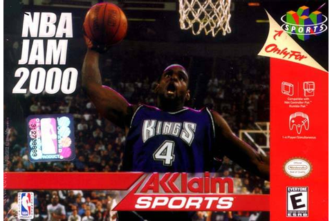 NBA Jam 2000 Nintendo 64 Game