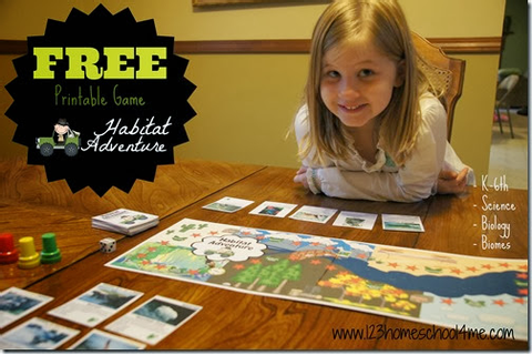 FREE Habitat Adventure Science Game – Exploring Biomes and ...