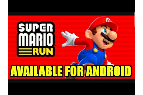super mario run game for android available now (Hindi ...