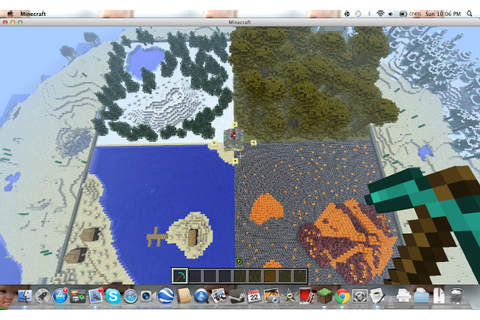 HUNGER GAMES CUSTOM MAP+NICE SPAWN+SURVIVAL Minecraft Project