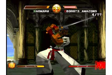 Samurai Shodown Warriors Rage Gameplay PS1 - YouTube