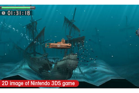 Hands-on with Steel Diver (3DS)