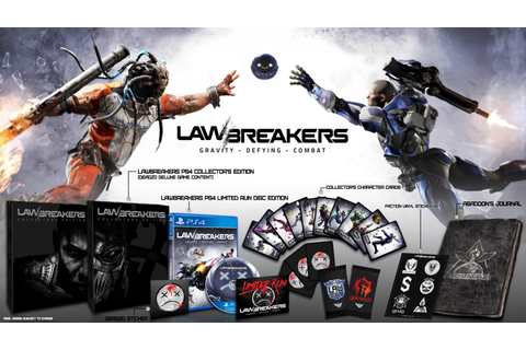 LawBreakers Physical Release, Collector's Edition Revealed ...