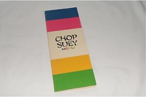 Vintage 1967 Ideal Chop Suey Game Replacement Chop Suey ...