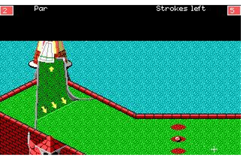 Zany Golf Download (1988 Sports Game)