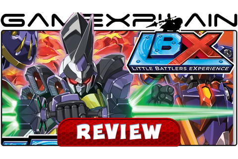 LBX: Little Battlers eXperience - Video Review (3DS) - YouTube