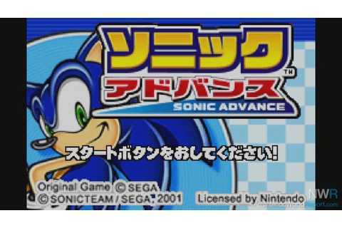 Sonic Advance - Game - Nintendo World Report