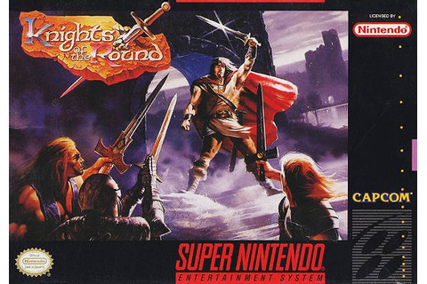 Knights of the Round SNES Super Nintendo