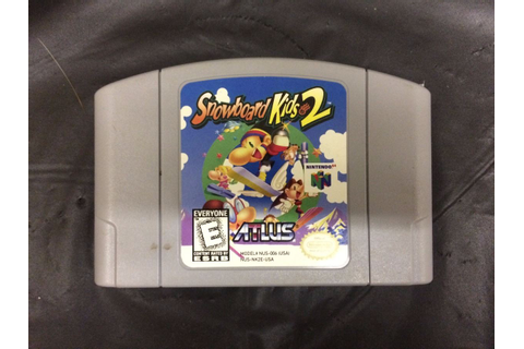 NINTENDO 64 GAME SNOWBOARD KIDS 2
