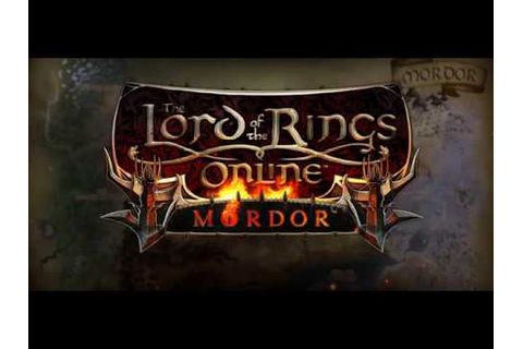Lord of the Rings Online - Mordor Launch Trailer - YouTube