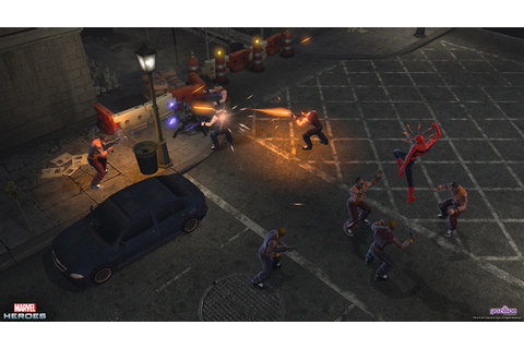 Marvel Heroes: Spiderman and the Black Panther - Gaming ...