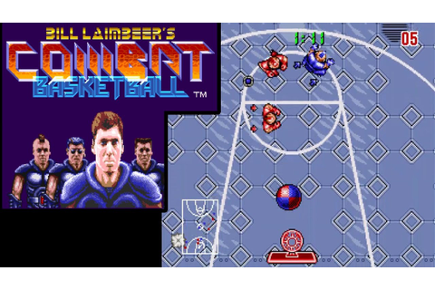 Bill Laimbeer's Combat Basketball ... (SNES) 60fps - YouTube