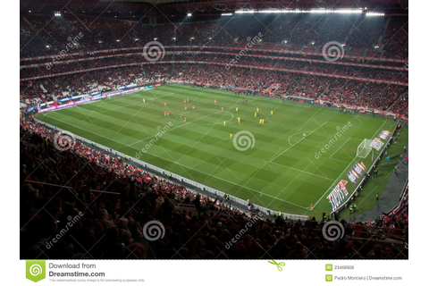 Soccer game stadium editorial stock photo. Image of ...