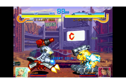Cyberbots Fullmetal Madness / attract mode / arcade ...